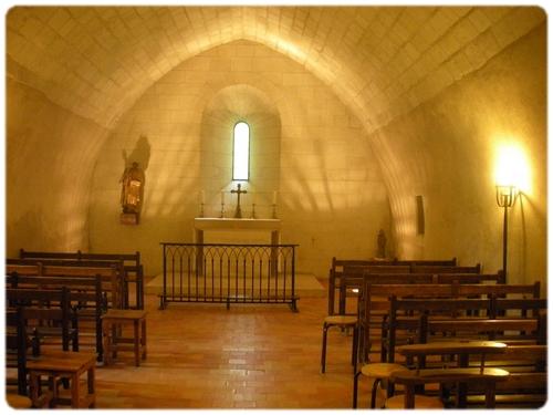 Oratoř svatého Dominika při konventním kostele Bratří Dominikánů La-Haye-aux-Bonshomes v Avrillé ve Francii